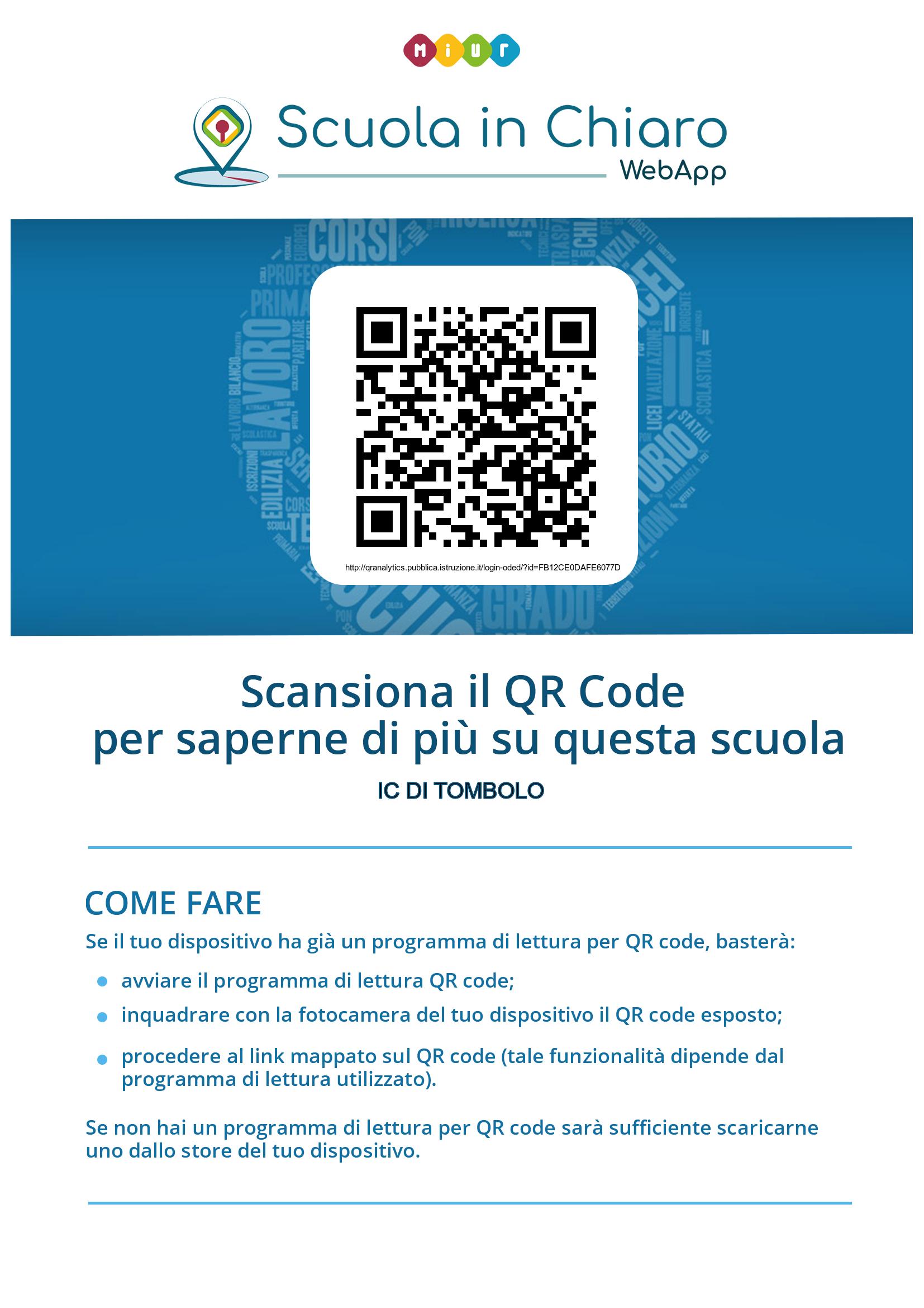 QR Code di istituto